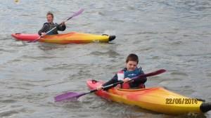 Horst et Jimmy contrent vents et marées.