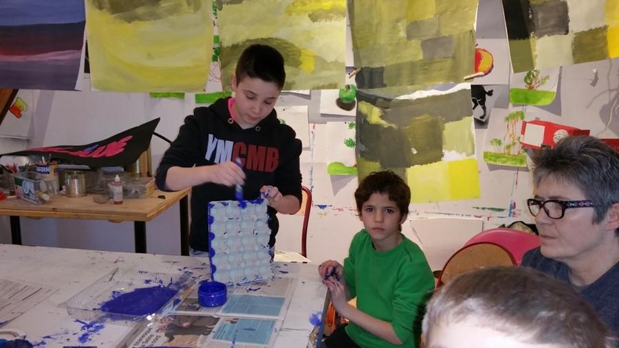 Images de l atelier hebdomadaire en arts plastiques les - Maison des enfants de la cote d opale ...