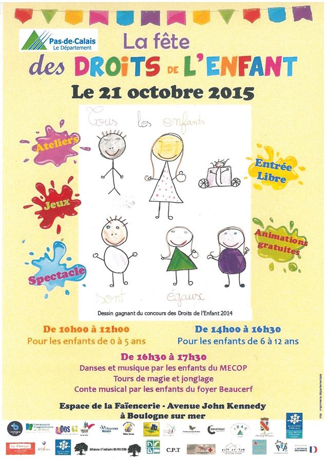 Bien connu La fête des droits de l'enfant à « La Faïencerie » | Les Maisons  MF17