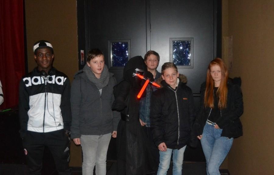 Les d couvreurs rencontrent les personnages de star wars - Maison des enfants de la cote d opale ...