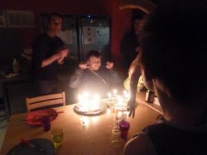 17 bougies pour sullivan, bon anniversaire!