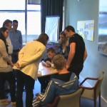 Restitution des ateliers scientifiques au Centre de Recherches de l'entreprise Schlumberger Ltd.
