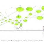 """Dessin réalisé par l'artiste Marc Ngui, d'après l'ouvrage """"Capitalisme et schizophrénie 2 : Mille plateaux"""" de Gilles Deleuze et Félix Guattari.Plus d'informations : http://www.bumblenut.com/drawing/art/plateaus/"""