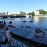 """Régate nautique des coracles et présentation du Dragon Boat """"Les Maisons des Enfants de la Côte d'Opale"""", suite"""