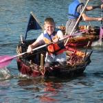"""Régate nautique des coracles et présentation du Dragon Boat """"Les Maisons des Enfants de la Côte d'Opale"""""""