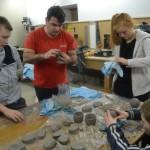 Troisième séance de l'atelier archéologique mensuel