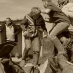 Images de la septième séance mensuelle de l'atelier en archéologie