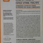 """Vernissage de l'exposition """"Chemin faisant II"""" au FRAC"""