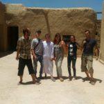 Dernière photo sur le sol marocain avant le grand départ (du retour !)