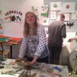 Images de l'atelier en arts plastiques de la Maison Vive