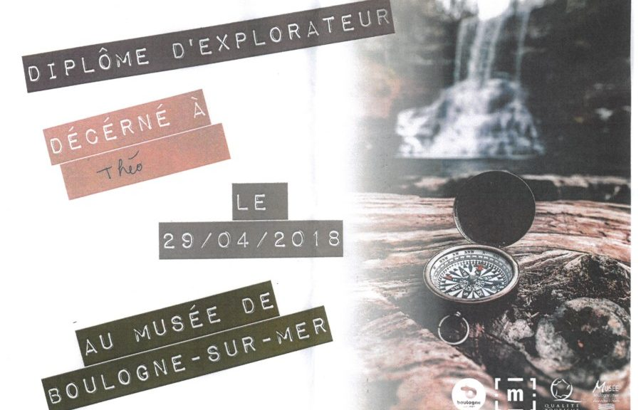 diplôme théo musée boulogne-sur-mer