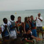 On rembobine : De Sangatte à Boulogne à la rame (juillet 2012)