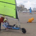 Formules 1 sur la plage d'Hardelot