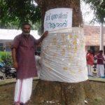 """Lettre de Shila : """"Médecin des arbres"""""""