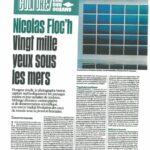 """Le journal """"Libération"""" raconte la couleur de l'eau"""