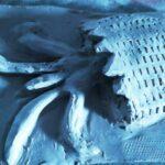 """Projet """"La couleur de l'eau"""" : images de l'atelier arts plastiques du Centre de jour, 8 décembre 2020"""