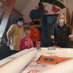 A l'improviste, épisode 2 (images de l'atelier arts plastiques de la Maison Vive, séance du 20 mai)